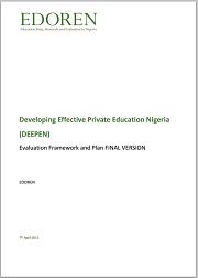 Cover - DEEPEN Evaluation Framework