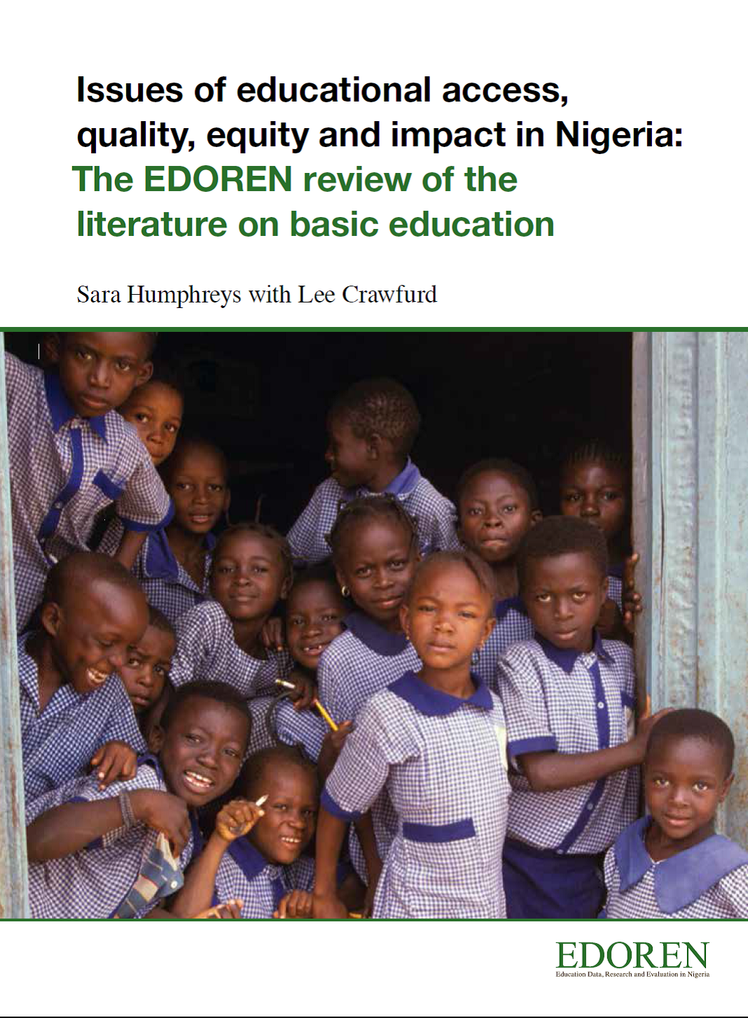 literature review on poverty and education Primary education is widely perceived to have a key role in reducing poverty and is positively associated with development-related outcomes such as improving pr.